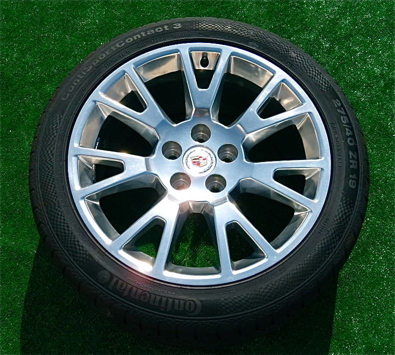 New 2012 OEM Factory Cadillac CTS Coupe Polished 19 Inch
