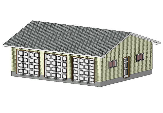 30 x 36 garage shop plans materials list blueprints for 36 x 24 garage