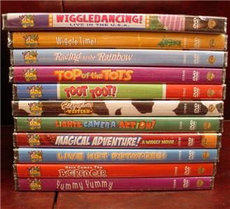 THE WIGGLES 22 DVD LOT ** ALL BRAND NEW & FACTORY SEALED ...