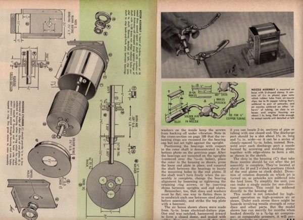 TESLA STEAM TURBINE ENGINE* PLANS HOW TO MAKE ORIGINAL