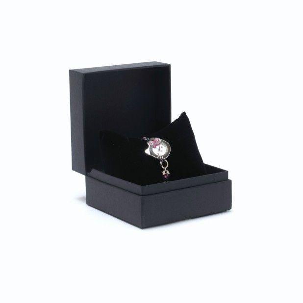 Hello Kitty Watch Bracelet Diamante   DieCut Pink