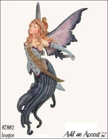 Imagine Fairy Diva Ornament Amy Brown Fairies