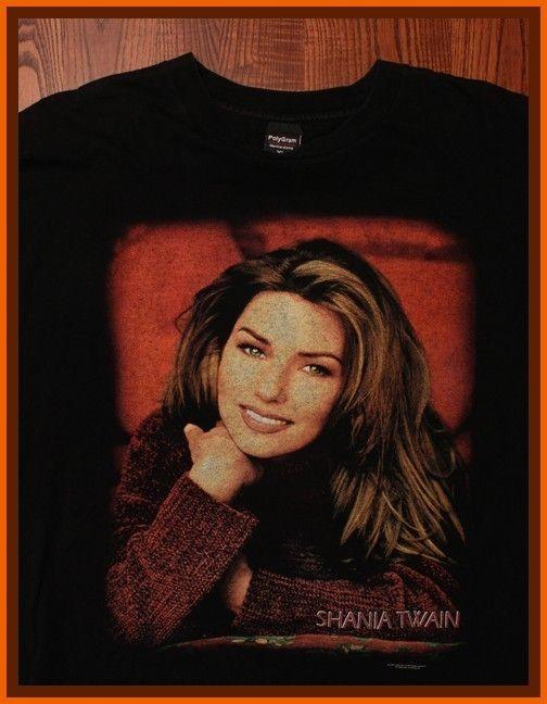Shania Twain Country Concert Tour T Shirt XL |